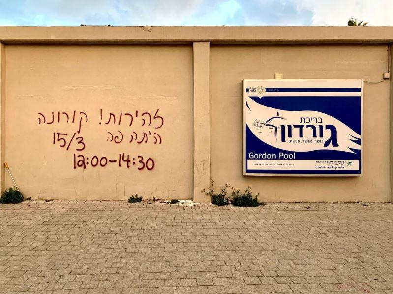 הכתובת על הקיר – אזהרת מסע בימי קורונה