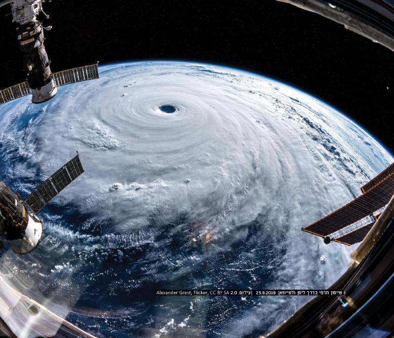 תופעות קיצוניות הקשורות להתחממות העולמית וזיקתן לאסונות טבע