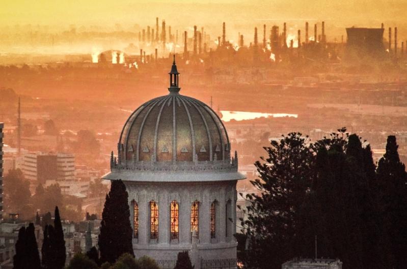 זיהום אוויר באזור מפרץ חיפה בעשרים השנים האחרונות