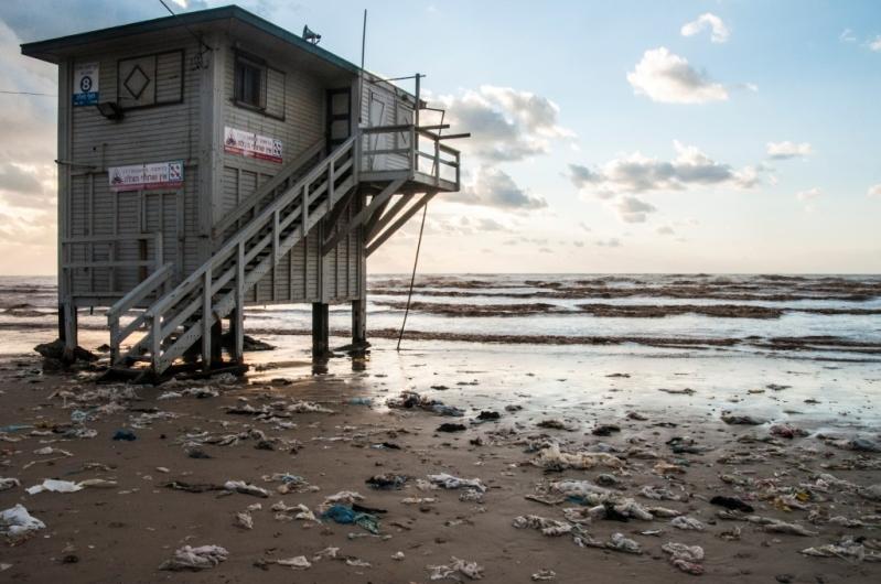 שינויים בהרכב פסולת הפלסטיק בחופי הים התיכון של ישראל בשנים 2012–2018
