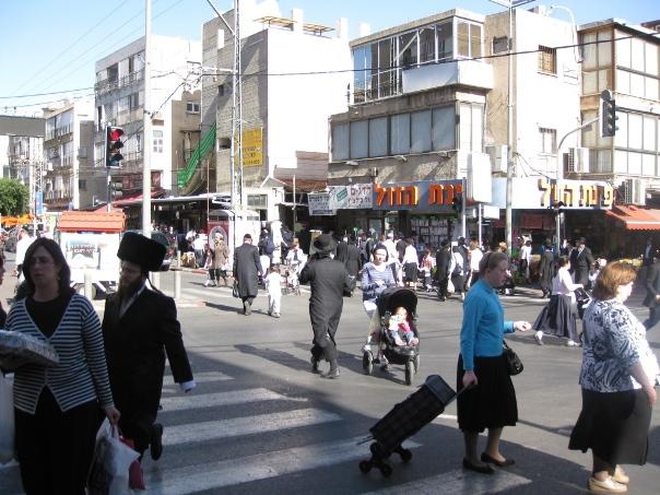 תרומת צפיפות האוכלוסין בערים להידבקות בקורונה בישראל
