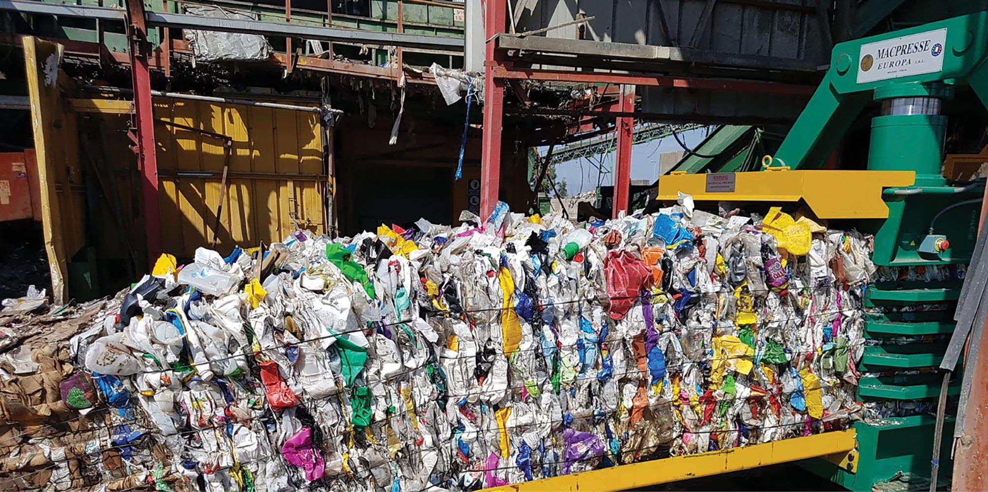 שימוש בפיתוחים טכנולוגיים במִחזור פסולת אריזות