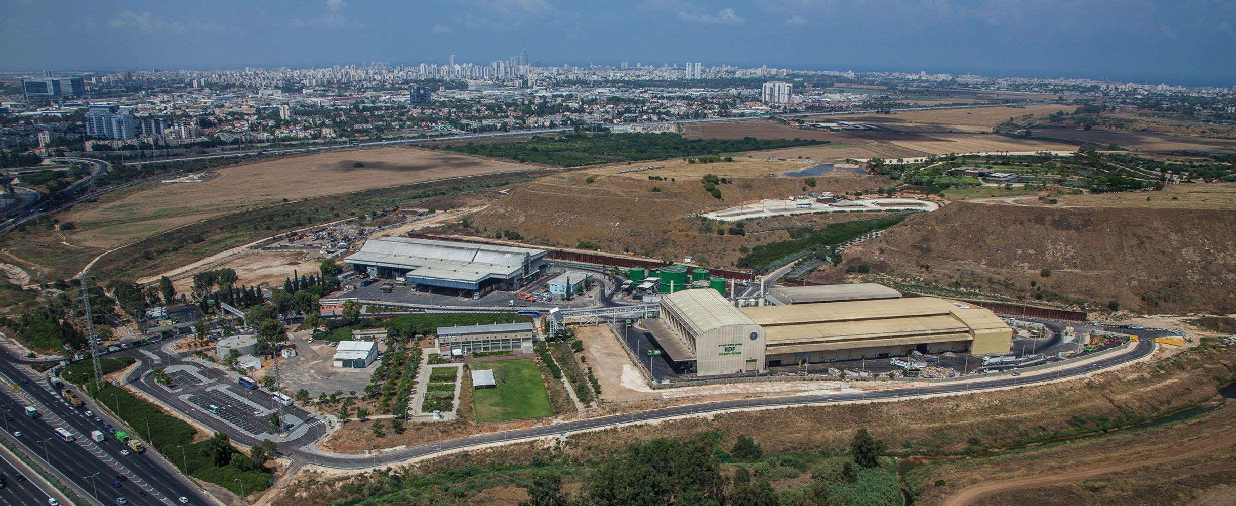 מפעל ה-RDF הזניק את תל-אביב ושכנותיה אל סף 40% מִחזור והשבה
