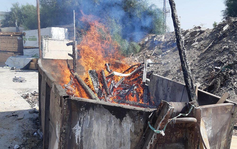 מניעת שרפות פסולת בשטחים הפתוחים – נתונים ראשוניים מפעילות היחידה הייעודית