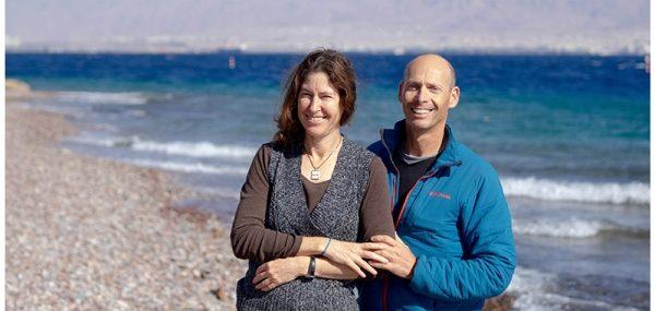 יוני ויעלה שקד – שוקדים בזוגיות על מחקר וניטור במפרץ אילת