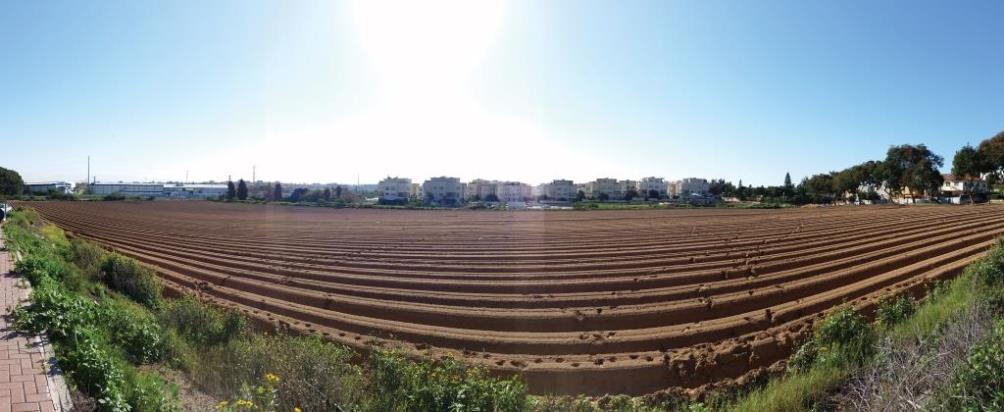 ניתוח עיתי של השינויים בשימושי קרקע באזור השובל העירוני-כפרי – אגן פולג כדוגמה