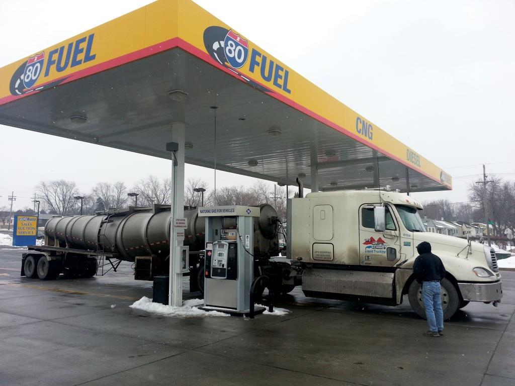 התועלת הלאומית בהנעת התחבורה הכבדה בגז טבעי