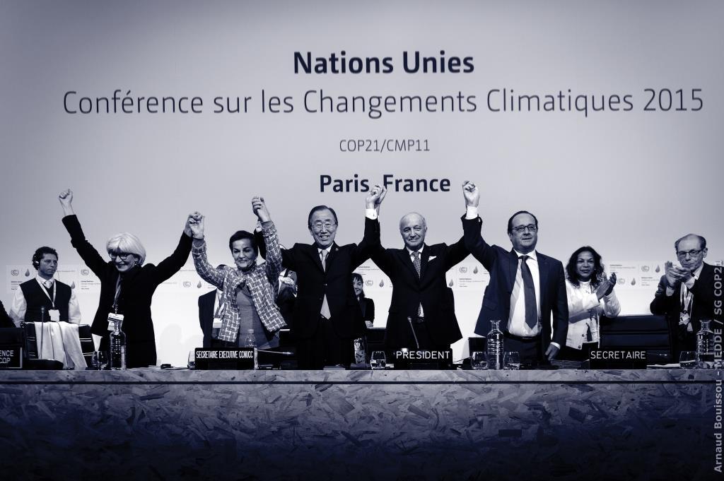 הסכם פריז להפחתת פליטות גזי החממה – אתגרי ניהול משאב משותף השייך לכלל האנושות